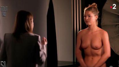 """Marisa Papen poedelnaakt op de Franse televisie: """"Ik wil het menselijk lichaam de-seksualiseren"""""""