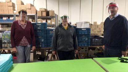 Kiwanis Tienen Hageland schenkt Face Shields