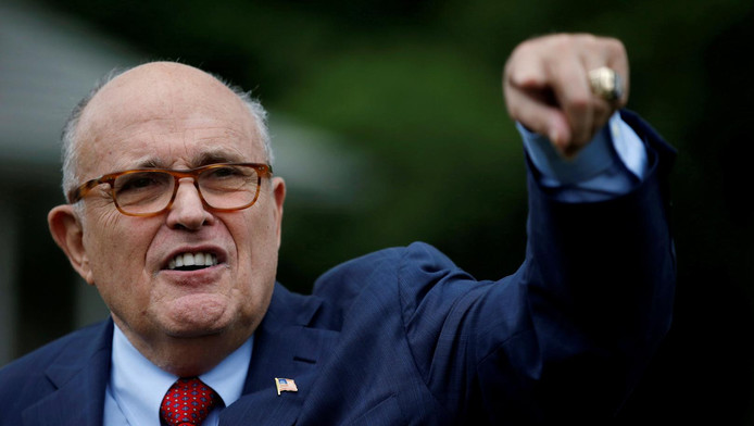 L'avocat de Donald Trump Rudy Giuliani.