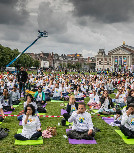 Fotoserie: Internationale Dag van de Yoga
