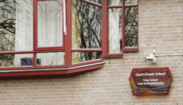 Leerkrachten van de Geert Groote School 1 dienden twee weken geleden een motie van wantrouwen in tegen het bestuur en eind vorige week werd besloten dat de Vereniging van Vrije Scholen een nieuw bestuur zal samenstellen. Foto Ruud van Zwet Beeld