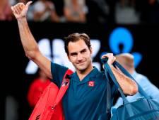 Federer simpel naar laatste zestien in Melbourne