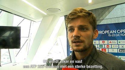 """VIDEO: Topfavoriet Goffin vol hoop voor European Open: """"België verwacht veel van mij"""""""