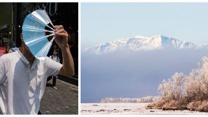 De wereld kreunt onder de hitte: Zuid-Korea noteert hoogste temperatuur ooit en Zweden krijgt nieuwe hoogste berg door smelten van ijs