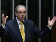 Oud-parlementsvoorzitter Brazilië Cunha de cel in