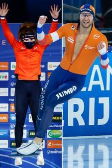 Oranje boven na heerlijk schaatsweekend in Thialf
