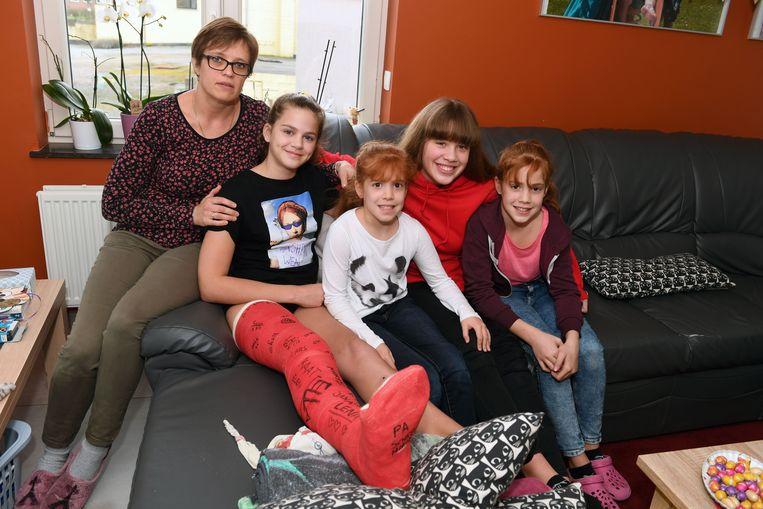 Tamara en haar gezin zijn ondertussen aan de beterhand.