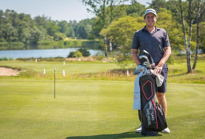 Lars van Meijel op Eindhovensche Golf in Valkenswaard