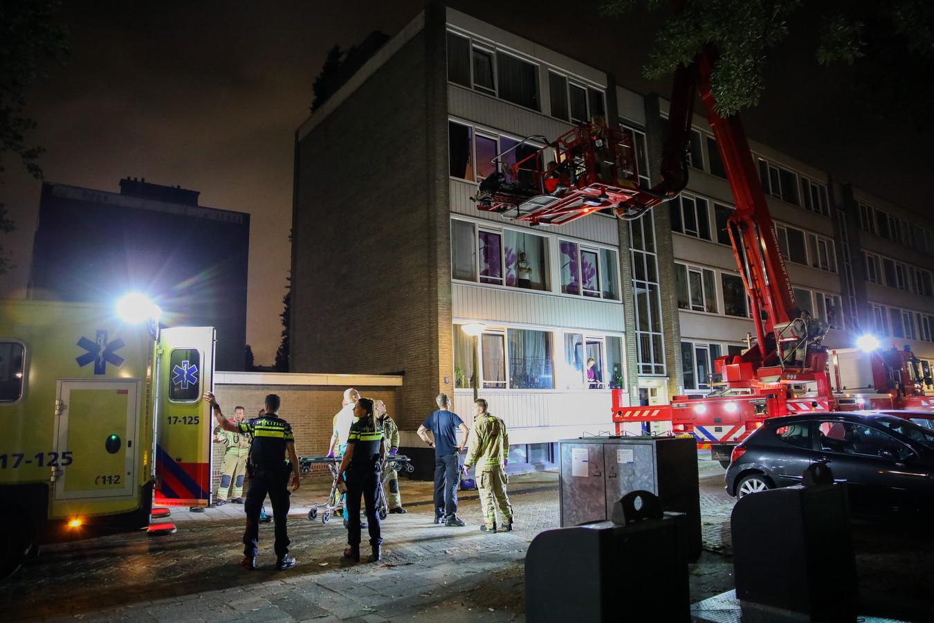 Het incident vond plaats in een woning aan de Van het Hoffstraat in Vlaardingen