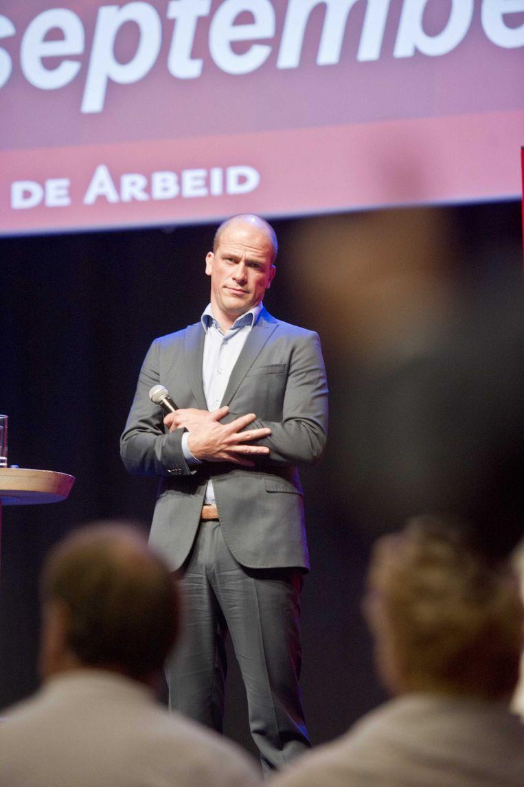 PvdA-leider Diederik Samson. Beeld anp