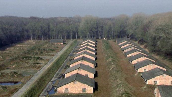 Het gevangenenkamp was enkele jaren geleden te zien in een aflevering van het Canvas-programma 'Publiek Geheim'.