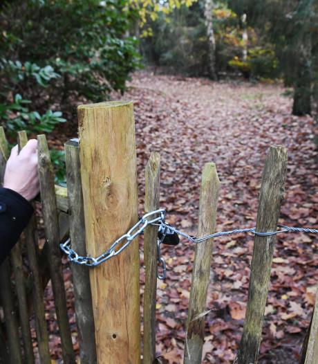 Prinses Irene veroorzaakt Doornse dorpsrel: populair wandelpad achter villa plots verboden terrein