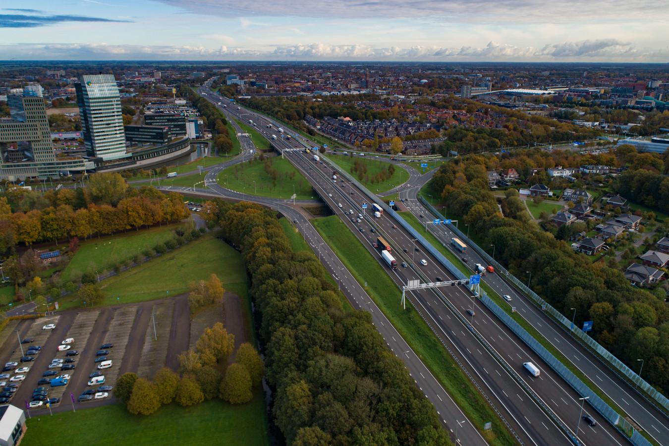 De A28 in Zwolle, in de toekomst ondergronds?