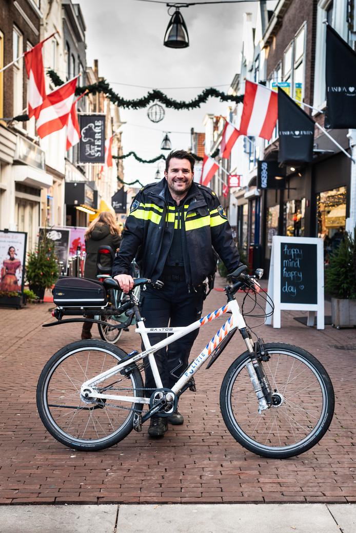 Wijkagent Gaab van de Koppel: ,,Ik ben een geboren en getogen Dordtenaar.''