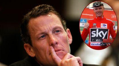 """'Puff Gate' rond Froome is ook Lance Armstrong niet ontgaan: """"Er klopt iets niet in de hele zaak"""""""