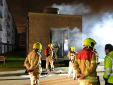2200 woningen in Rotterdam-Zuid weer stroom na brand in elektriciteitshuisje