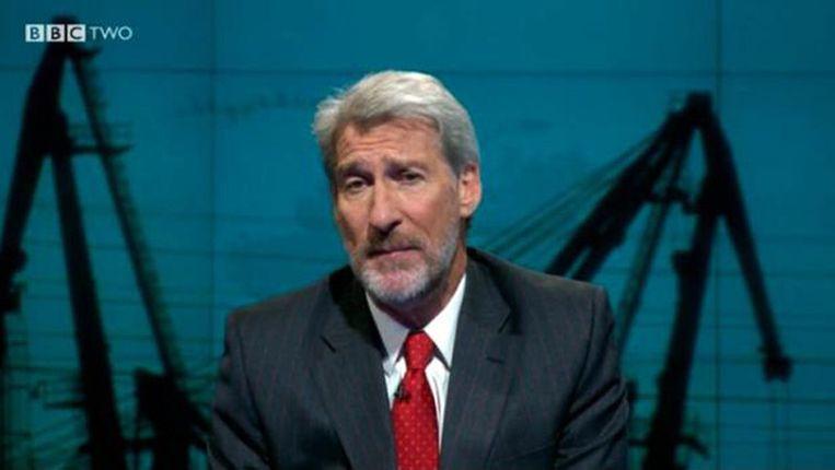 Jeremy Paxman - met baard. Beeld BBC