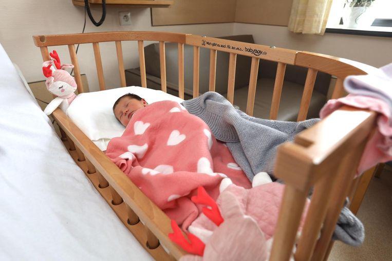 Nena zag afgelopen zaterdag via de natuurlijke weg het levenslicht in het ziekenhuis van Jessa.