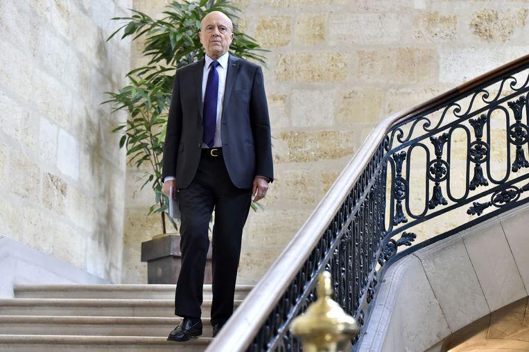 Burgemeester van Bordeaux Alain Juppé: