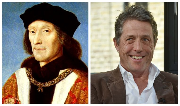 Henry VII en Hugh Grant