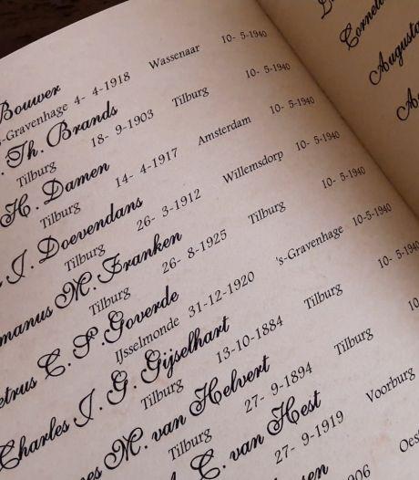 Elke dag een bladzijde voor Tilburgers wie de oorlog hun leven kostte