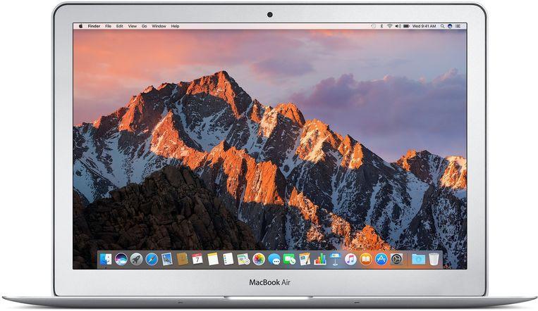 De recentste editie van de MacBook Air.
