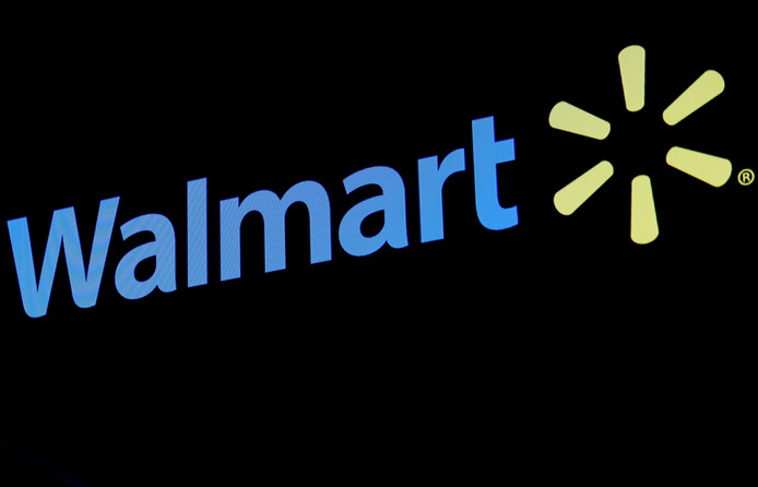 Logo van Walmart, de grootste retailer ter wereld. Het bedrijf gaat nog deze zomer Hema-producten online verkopen.
