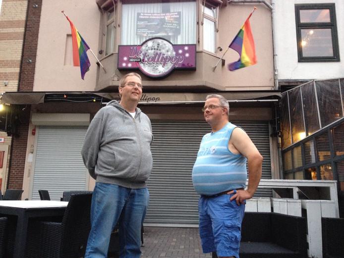Frank Visser en Leon van Gelooven.