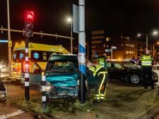 Vier gewonden bij botsing op Ringbaan Zuid in Tilburg