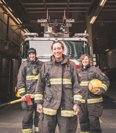 Cette petite fille pensait qu'elle ne pourrait jamais devenir pompière