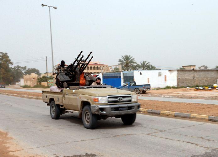 Versterkingen zijn onderweg vanuit Misrata naar Tripoli.
