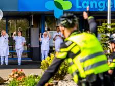 Toeterend eerbetoon aan LangeLand: 'We zijn trots op jullie'