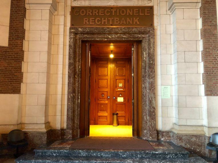 De correctionele rechtbank in Leuven waar de man verstek liet gaan.
