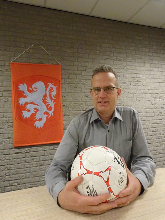 """Cees van Drunen: ,,Vrijwilligerswerk voor de club is voor mij ontspanning."""""""
