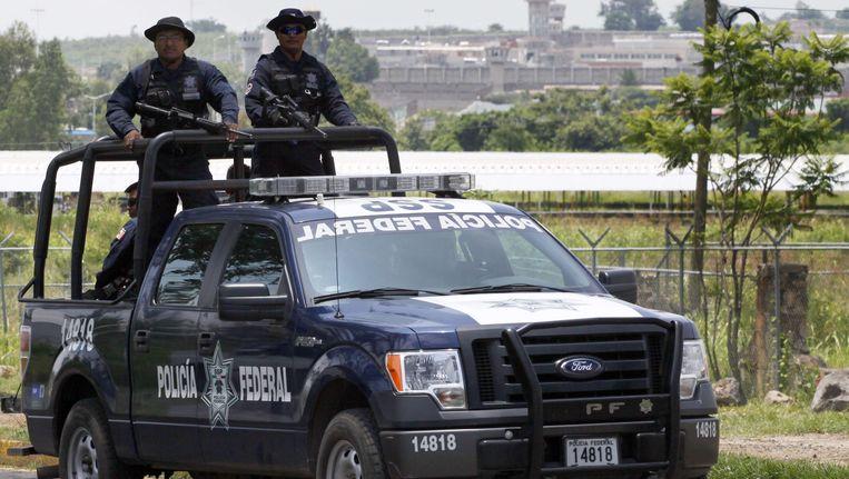 Een patroille van de Mexicaansee federale politie (archiefbeeld).