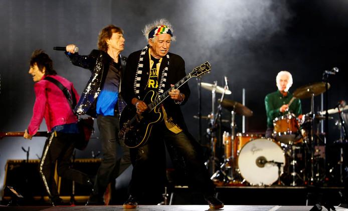 The Rolling Stones twee weken geleden in Zürich, komende zondag op Betuwse klei in het Gelredome.