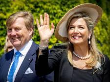 Willem-Alexander en Máxima in hoog tempo Duitsland door