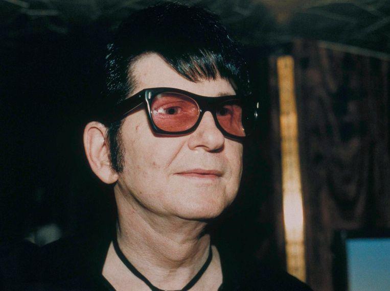 Roy Orbison in 1988. Beeld null