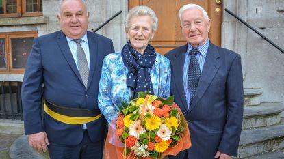 Huwelijksbootje Roger en Georgetta vaart 60 jaar