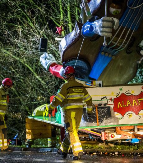 Carnavalisten in shock na dodelijk ongeluk met optochtwagen in Meerssen