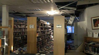 VIDEO. Wegen ingestort na krachtige aardbeving in Alaska. Grote schade aan huizen, vliegverkeer opgeschort