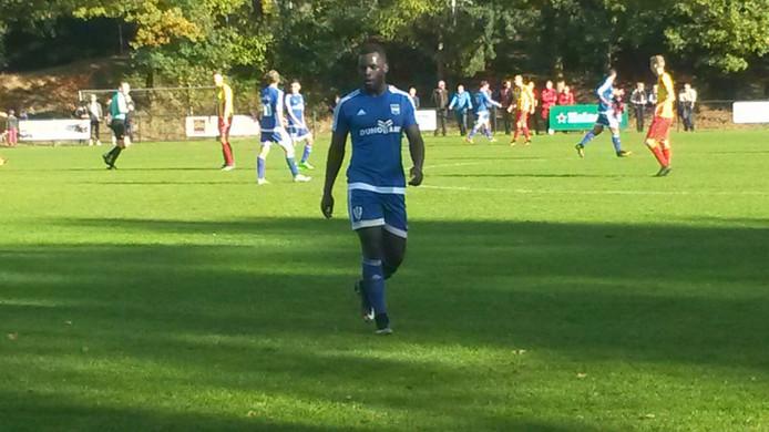 Op de Waayenberg in Doorwerth is het 1-0 geworden Door een lage schuiver van Duno-spits Carlos Dos Santos.