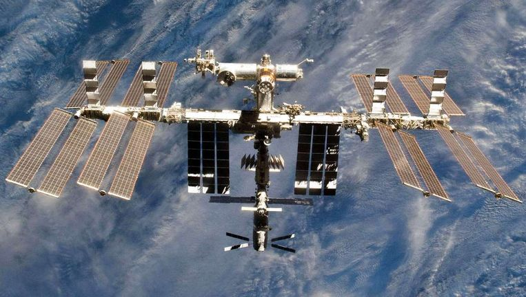 Het ISS. (Archiefbeeld)