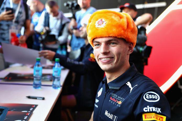 Max Verstappen kwam in Sotsji nog nooit verder dan de vijfde plaats.