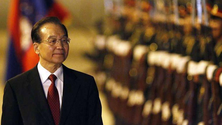 Wen Jiabao Beeld reuters