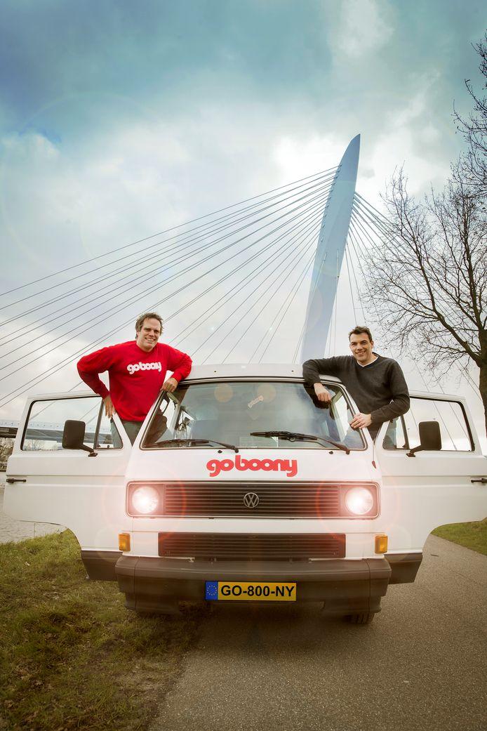 Oprichters Mark de Vos en Foppe Mijnlieff van Goboony