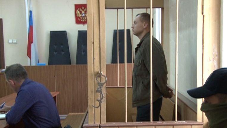 Eston Kohver bij de rechtbank