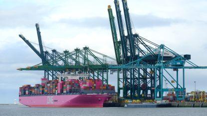 Containerterminals op rechteroever blijven de klok rond open in strijd tegen files