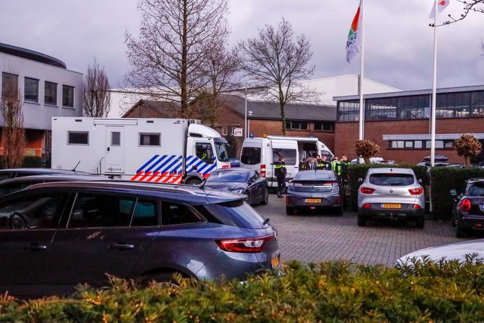 Donderdagmiddag vond een controle plaats bij tien autobedrijven op het industrieterrein De Isselt in Amersfoort.