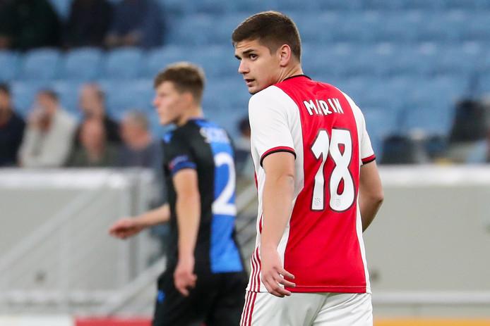 Razvan Marin lors du match amical face à Bruges